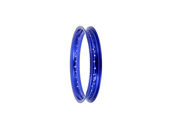 """Felge 1,85 x 16"""" Alufelge, Blau eloxiert - für MZ ES175, ES250, ES300, ETZ125, ETZ150,  10070007 - Bild 1"""