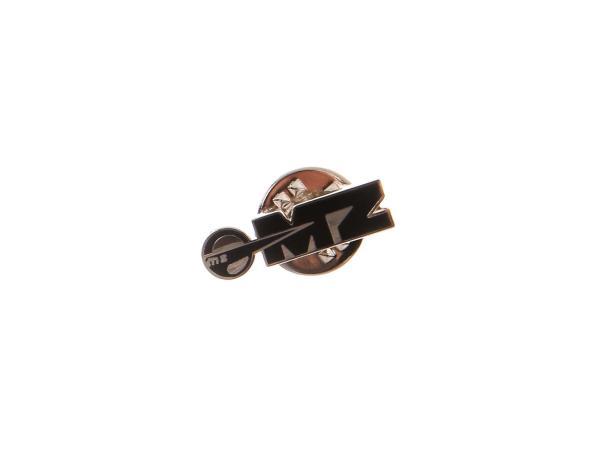 Ansteck-Pin MZ Logo in Schwarz/Silber,  10066874 - Bild 1