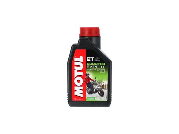 10055404 MOTUL Scooter Expert 2-Takt Motorenöl -1 Liter - Bild 1