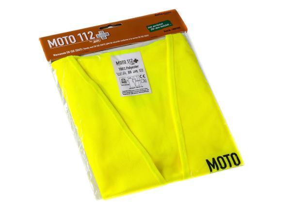 "Warnweste ""MOTO 112"" Neon-Gelb,  10022508 - Bild 1"