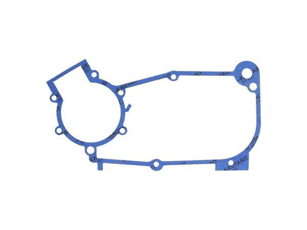 Motormitteldichtung Kautasit 0,5mm stark, Motortyp M52,M53,M53/1 - für Simson KR51/1 Schwalbe, SR4-1 Spatz, SR4-2 Star, SR4-3 Sperber, SR4-4 Habicht,  10069351 - Bild 1