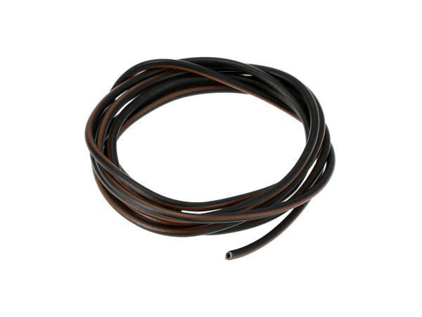 10001786 Kabel - Schwarz/Braun 0,50mm² Fahrzeugleitung - 1m - Bild 1