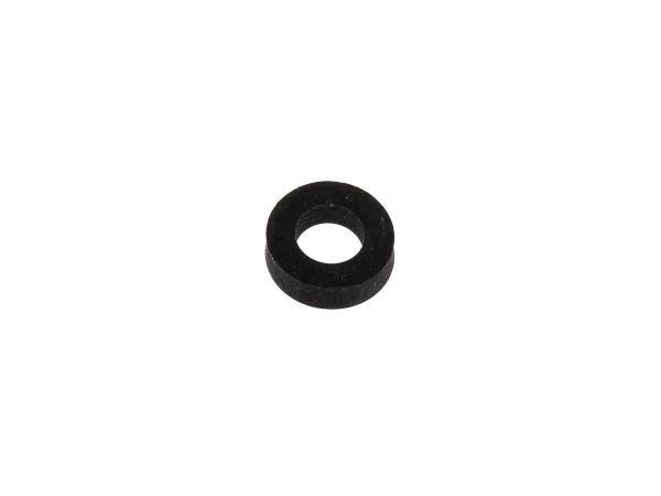 Gummi - Scheibe 22x12mm, Höhe 6mm für Motorlager, Soziusfußrasten Haube - für Simson KR51 Schwalbe, SR50, SR80,  10000725 - Bild 1