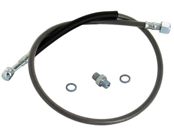 Bremsschlauch - 720mm lang - Simson 050 TS - Stahlflex,  10044064 - Bild 1