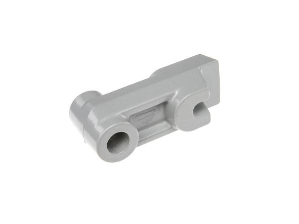 Distanzstück, hinten PPB einschichtsilber (Bremsgegenhalter) Simson Mokick / Roller,  10060096 - Bild 1