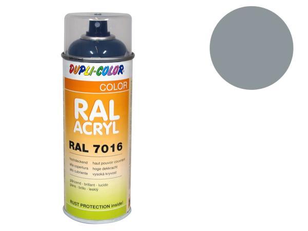 Dupli-Color Acryl-Spray RAL 7042 verkehrsgrau A, glänzend - 400 ml,  10064860 - Bild 1