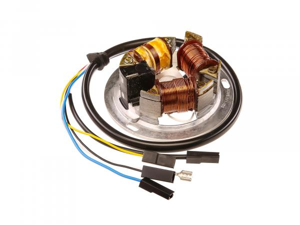 10059858 Grundplatte 8305.1/1-100, 6V Elektronik, 35/21W Bilux - Simson S51, S70, KR51/2 Schwalbe - Bild 1