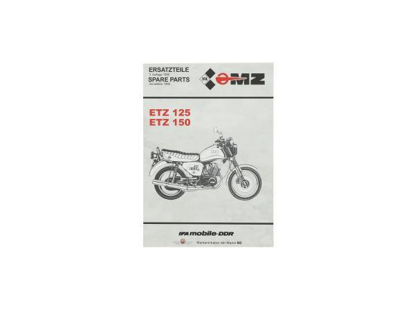 Ersatzteilkatalog ETZ125, ETZ150,  10056003 - Bild 1