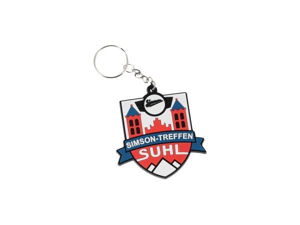 """Schlüsselanhänger """"Simson Treffen Suhl"""" aus Soft-PVC, mit Schlüsselring,  10068923 - Bild 1"""