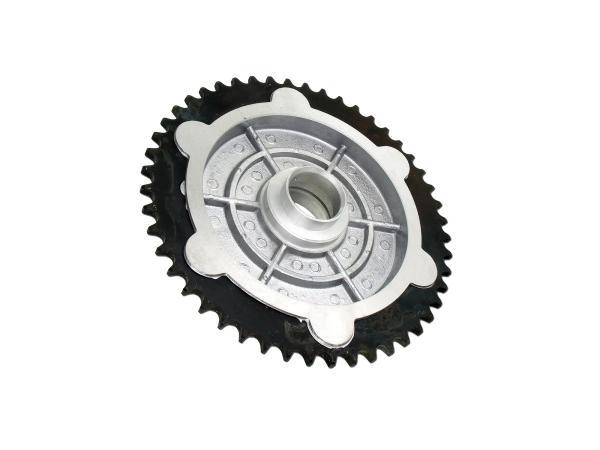 Kettenrad-Mitnehmer, 48 Zahn - hinten für ETZ, TS 125, 150,  10003283 - Bild 1